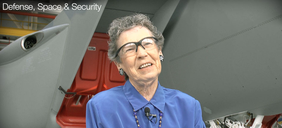 A pioneer for women in aerospace retires from the jet she loves (Video)